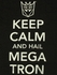 Transformers Keep Calm Hail Megatron T Shirt