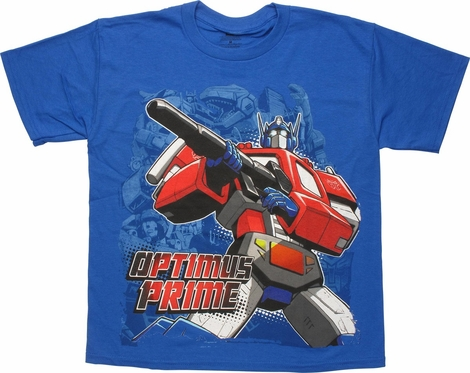 Transformers Optimus Cannon Youth T-Shirt