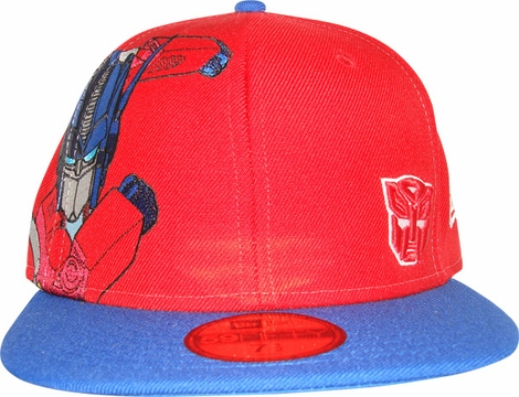 Transformers Optimus Side Pose 59FIFTY Hat