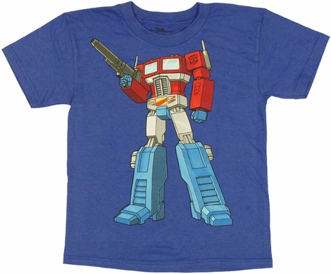 Transformers Optimus Juvenile T Shirt