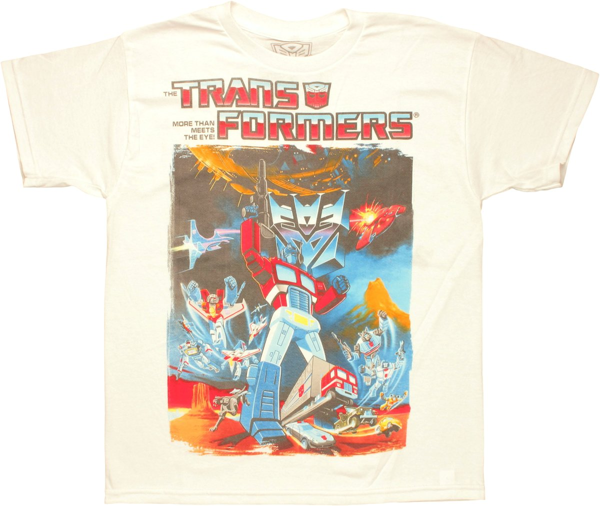 Transformers prime poster youth t shirt for Kids t shirt printing