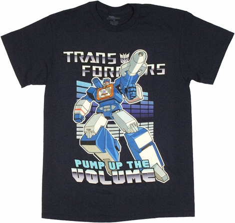 Transformers Soundwave Volume T Shirt
