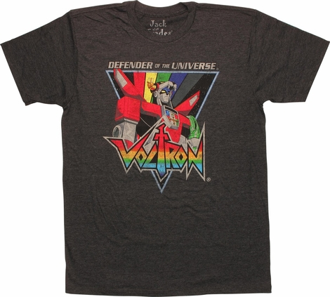 Voltron Defender Universe Triangle T-Shirt