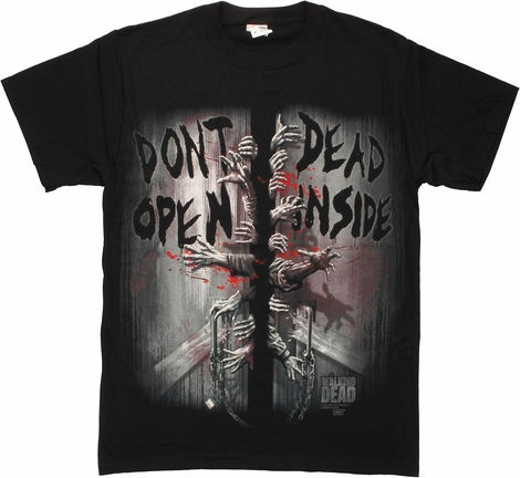 Walking Dead Door T Shirt