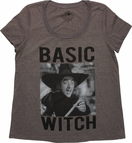 Wizard of Oz Basic Witch Ladies T-Shirt