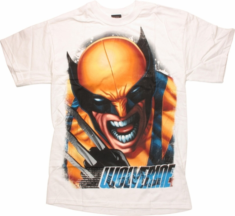 Wolverine Close Growl T-Shirt