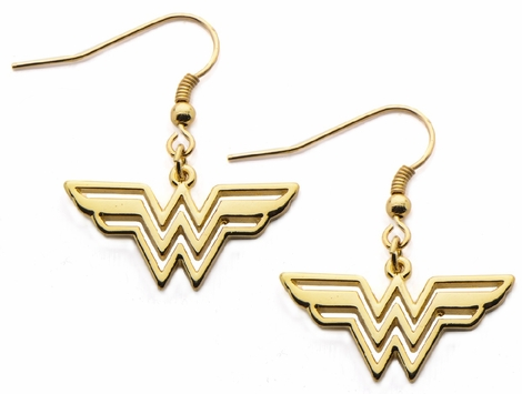 earrings stud woman thinkgeek iosn wonder gold product