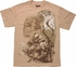 X Men Wolverine Perched in Tree T-Shirt