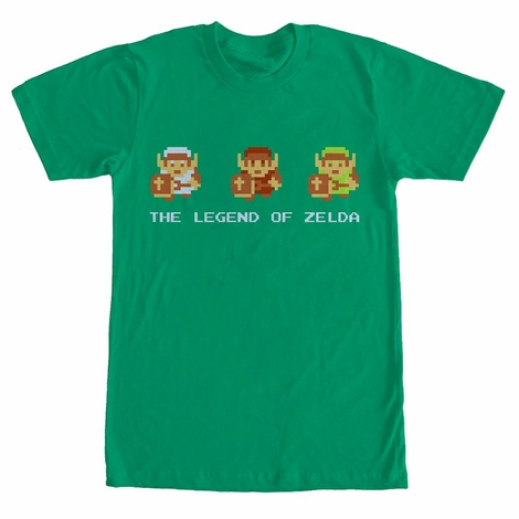 Zelda Classic Link Outfits T-Shirt
