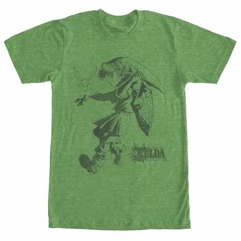Zelda Link and Navi T-Shirt