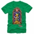 Zelda Link Stained Glass Guard T-Shirt