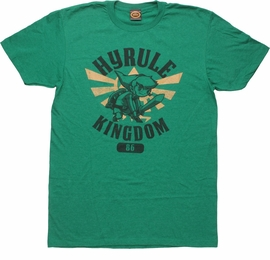 Zelda Links Hyrule Kingdom 86 T-Shirt