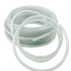 300' Hose 1/2 Clear Poly-Braid For Pressure Washers 91019