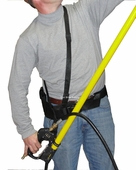 Anti-Fatigue Belt & Strap For Telescoping Wand