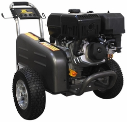 BE Pressure Washer 4GPM at 4,000 PSI Model X-4015RWBARCD