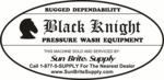Black Knight Cold Water Portable Pressure Washers and ALWAYS FREE SHIPPING!