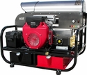 Black Knight Model 624 Belt Drive Hot Water Super Skid Pressure Washer W/Free Freight