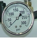 Deckster® Gauge 300 PSI W/Bracket 90230