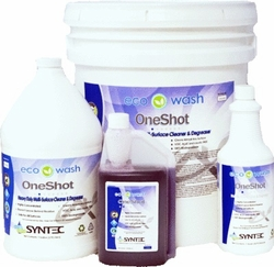 Ecowash One Shot A Degreaser For Pressure Washing Concrete And Other Surfaces