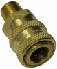 Hansen Brass,Stainless Steel,3/8 Quick Connects Socket Mpt Pressure Washer Part 1198