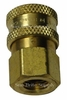 Hansen Brass,Stainless Steel,3/8 Quick Connects Socket W/Fpt Pressure Washer Part 1199