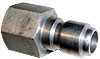 Hansen ,Stainless Steel,,1/4 Quick Connects Plug W/Fpt Pressure Washer Part 2034