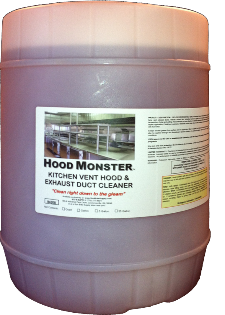 Hood Monster The Best Kitchen Exhaust Cleaning Chemical For Hood Cleaners!