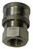 Hpc ,Stainless Steel,,1/4 Quick Connects Socket W/Fpt Pressure Washer Part 2024