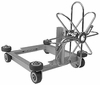 Mosmatic Duct Cleaner Cart For 20 And 24 Duct Spinners For Duct Cleaning For Pressure Washers 6861