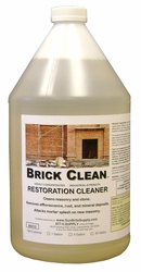 Brick Clean® Pro-Grade Brick Cleaner For Building Restoration & Cleaning Masonry 94410-5-(5-Gallon)