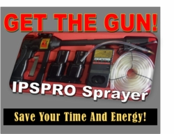 IPSPRO Chemical Spraying System, A Battery Powered Chemical Sprayer