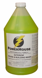 PowerHouse® The Best House Washing Chemicals For Siding, Stucco, EIFS & Painted Surfaces, 1 Gallon 94400-1