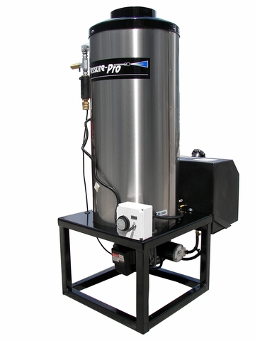 Pressure-Pro 12 VDC Vertical 8 GPM Hot Box Water Heater -Pressure Washing Equipment