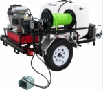 Pro-Jet Jetter Trailer 5.5 Gpm Vanguard 18Hp For Pressure Washers