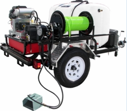 Pro-Jet Jetter Trailer 8 Gpm Gx690 Honda For Pressure Washers 93479