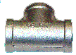 Stainles Tee 3/8 X 3/8 X 3/8 Pressure Washer Part 5212