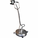 "Viper 22"" Stainless Steel Surface Cleaner With Casters"