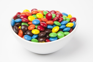 Assorted  M&M's Candy (5 Pound Bag)