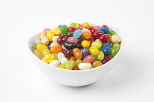 Assorted Sour Mix Jelly Beans (5 Pound Bag)