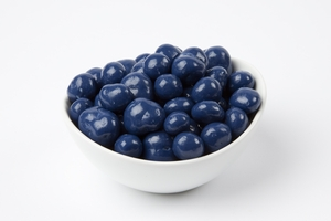 Blue Chocolate Covered Blueberries (10 Pound Case)