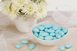 Blue Jordan Almonds (5 Pound Bag)
