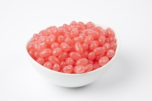 Bubble Gum Jelly Beans (5 Pound Bag) - Light Pink