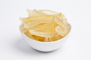 Candied Lemon Peels (10 Pound Case)