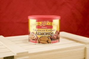 Chocolate Almonds, 10.5oz Canisters (Pack of 3)