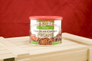 Chocolate Pecans, 10.75oz Canisters (Pack of 3)