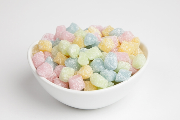 Colored Mochi Rice Cakes (10 pound Case)