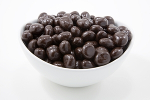 Dark Chocolate Covered Raisins (10 Pound Case)