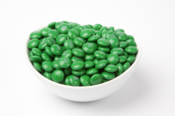 Dark Green  M&M's Candy (5 Pound Bag)