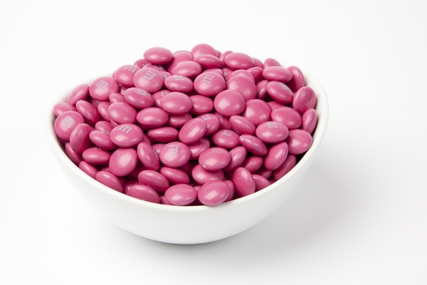 Dark Pink  M&M's Candy (10 Pound Case)