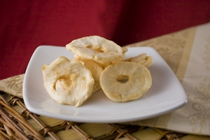 Dried Apples (1 Pound Bag) - No Sugar added
